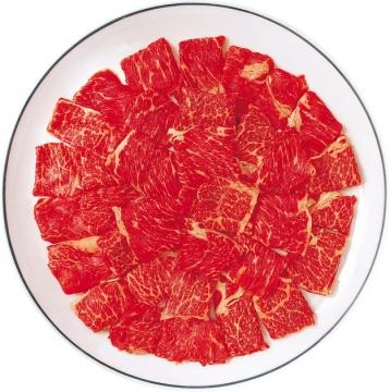 盘中的雪花牛肉和牛肉片876348png图片素材