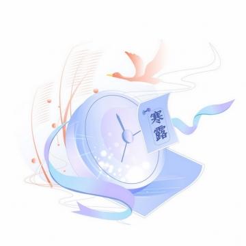 二十四节气之寒露节气插画913241图片素材