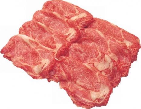 现切的牛肉卷535922png图片素材