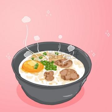 一碗美味的香菇粥美食3169457png图片素材