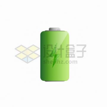 绿色的充电电池电量符号图标png图片素材