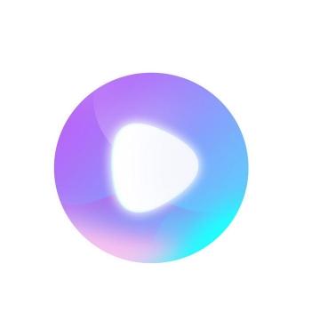 发光水晶按钮播放按钮图片免抠素材