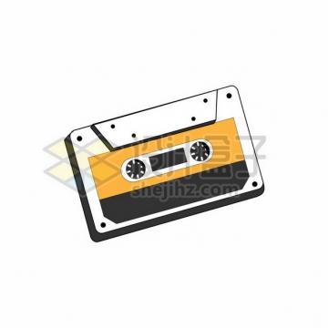 复古磁带音乐插画211551png矢量图片素材