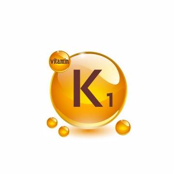 维生素K1油滴维他命K1软胶囊保健用品营养元素png图片免抠矢量素材