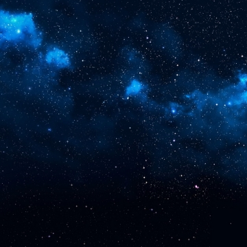 深蓝色夜晚的夜空星空天空605460png图片素材