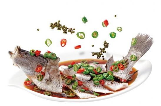 一盘美味的青花椒鲈鱼866739png图片素材