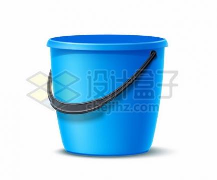 逼真的蓝色水桶塑料桶325290png图片素材