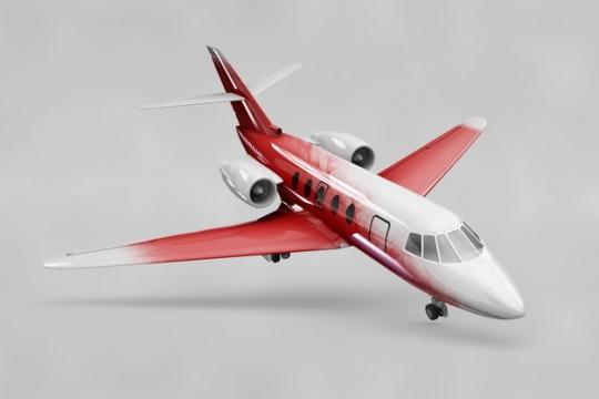 湾流商务机公务机小型客机飞机psd样机图片模板素材