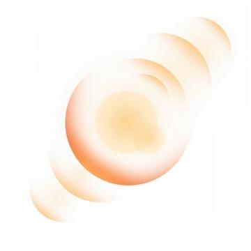 淡红色的光晕效果光圈效果288678png图片素材