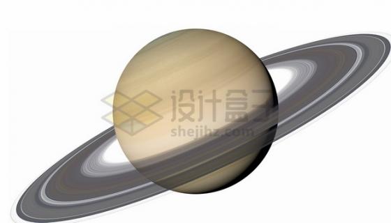 逼真的高清土星和土星光环宇宙星球png图片素材
