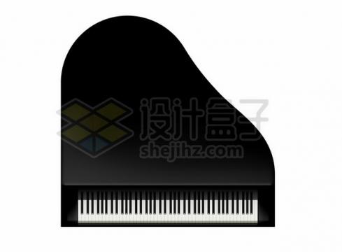 钢琴俯视视角图案498323png图片素材