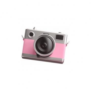 广角镜头的粉色照相机单反相机890583png图片素材