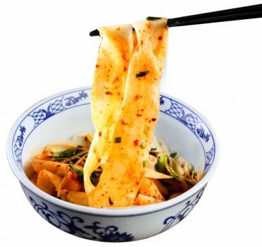 筷子叉起来的面皮凉粉美味小吃200173png图片素材