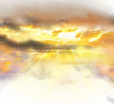 晚霞火烧云日出云层风景图131281png免抠图片素材
