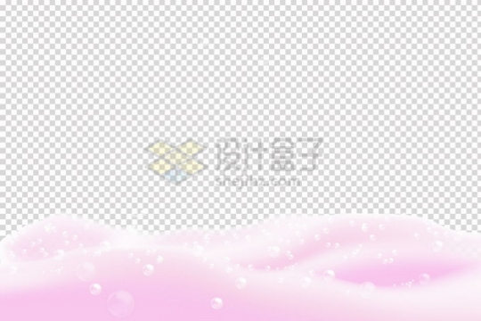 白色液体效果泡泡肥皂泡效果png图片素材