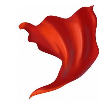 飘扬的红色绸缎面丝绸红旗装饰178765png图片素材