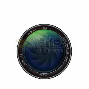 逼真的数码单反相机镜头247314png矢量图片素材