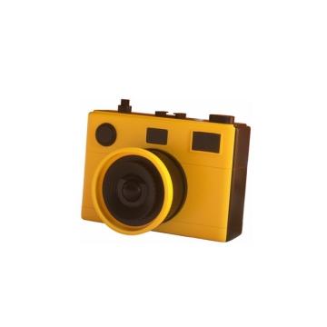 C4D风格黄色3D立体数码单反相机573670png图片素材