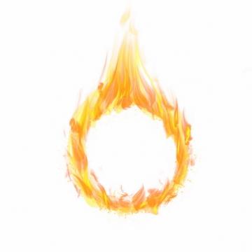 燃烧的火焰火圈648081png图片免抠素材