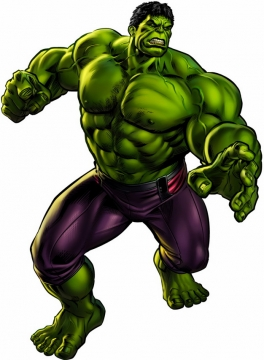 漫画中的绿巨人无敌浩克743674png免抠图片素材