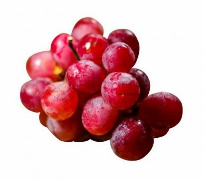 红色葡萄巨玫瑰葡萄png图片素材