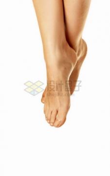 健康肤色的双脚png免抠图片素材
