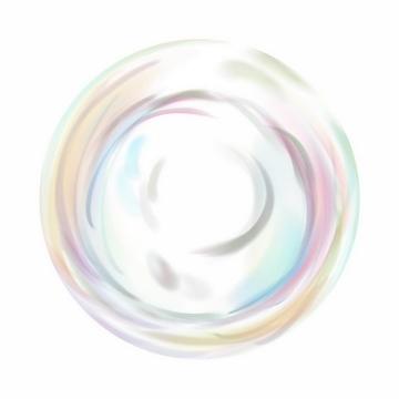 彩色气泡肥皂泡png图片免抠矢量素材