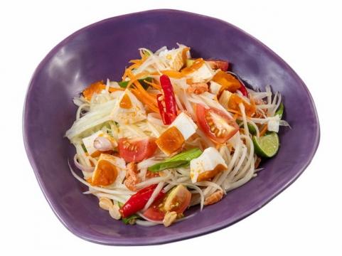 西红柿豆芽菜蔬菜色拉536268png图片素材