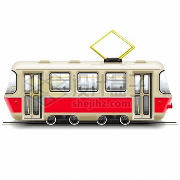 逼真的复古式有轨电车841174png矢量图片素材