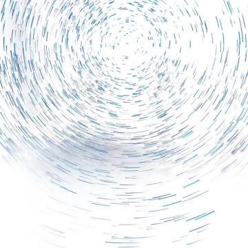 蓝色星轨装饰图片免抠素材