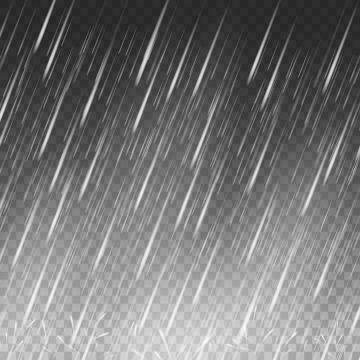 下大雨暴雨雨点效果图片免抠矢量素材