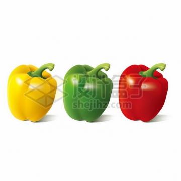 黄色绿色红色灯笼椒287345png矢量图片素材