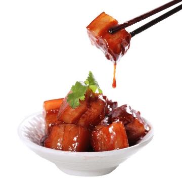 筷子夹起来的美味红烧肉png图片免抠素材
