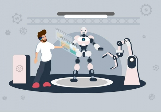 关于未来人工智能的未来技术插图图片免抠素材