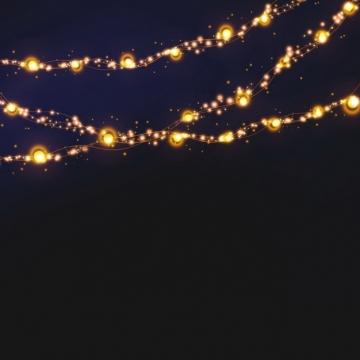 创意彩灯带发光灯光效果669067PSD免抠图片素材