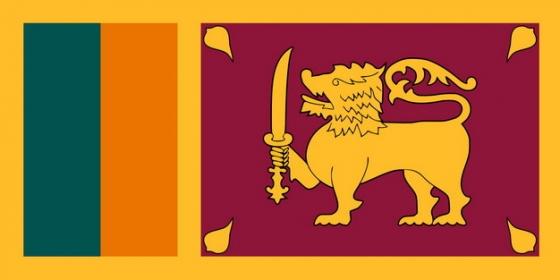 标准版斯里兰卡国旗图片素材
