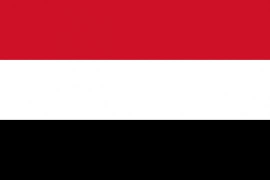 标准版也门国旗图片素材