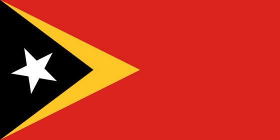 标准版东帝汶国旗图片素材