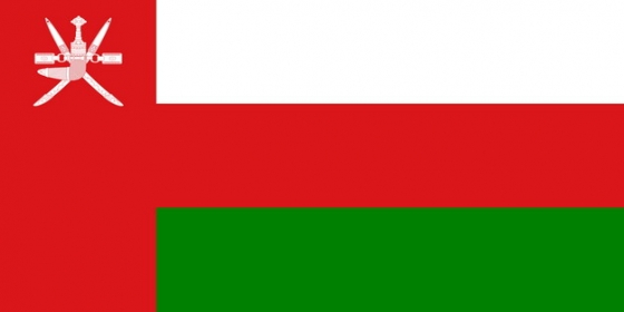 标准版阿曼国旗图片素材
