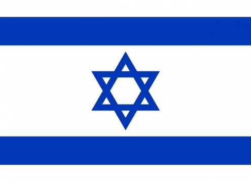标准版以色列国旗图片素材