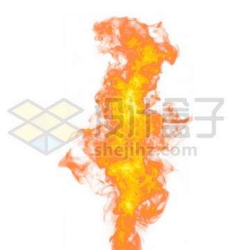 燃烧的火红火焰火苗930130psd/png图片素材