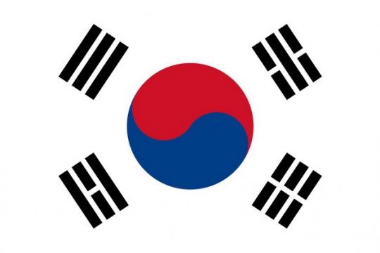 标准版韩国国旗图片素材
