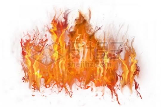 燃烧的火焰熊熊烈火803929psd/png图片素材