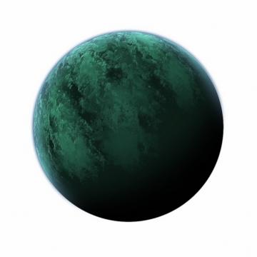 绿色月亮绿色星球967239 png图片素材