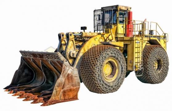 重型铲车推土机png图片素材