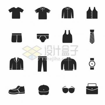 衣服裤子鞋子帽子等衣物图标674641png图片素材