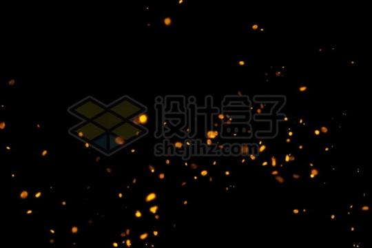四处飞舞的火焰火星816263psd/png图片素材