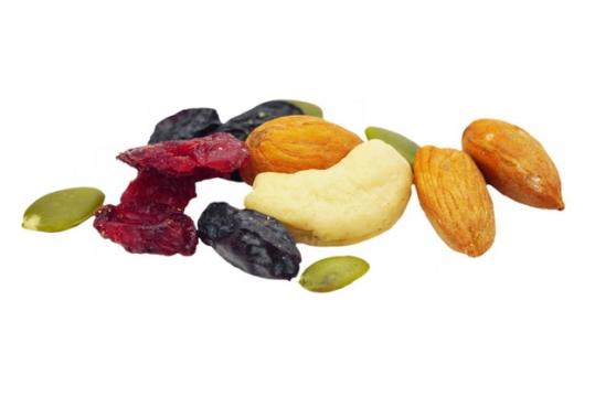 果脯杏仁腰果葡萄干等干果美味零食209813png图片素材