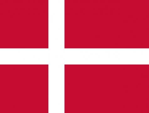 标准版丹麦国旗图片素材