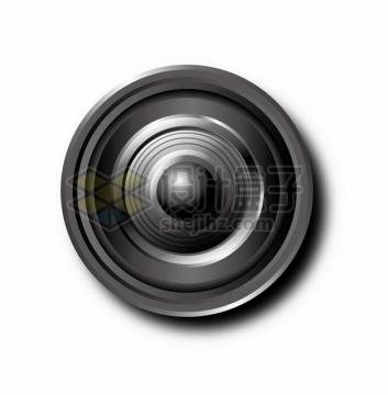 一款逼真的相机变焦镜头911771png矢量图片素材